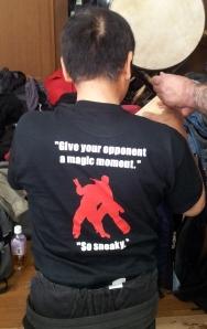 Le t-shirt du Shiraïshi dojo