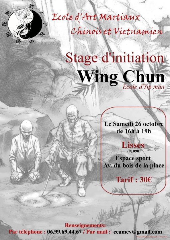 Stage de notre ami Sébastien Maître de Wing Chun